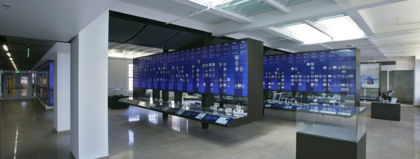 Custom Fabricated Fixtures for Inamori Kyocera Museum
